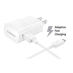 Cargador Pared Original Samsung carga rápida adaptativa Blanco