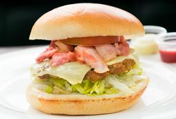Hamburguesa Especial de Carne Bbq
