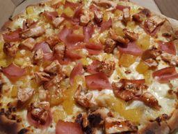 Pizza Hawaiana BBQ Mediana