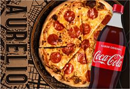 Pizza Fest: Giuseppe Peperoni Grande + Coca Cola 1.5 L