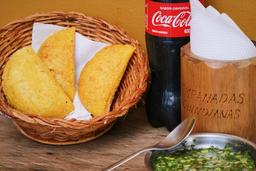 🥟 3 Empanadas + Gaseosa Personal