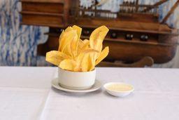 Chips de Plátano con Suero Grande