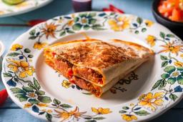 Quesadilla de Chorizo Artesanal