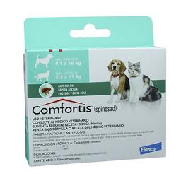 Comfortis 9 Kg A 18 Kg (1 Comprimido)