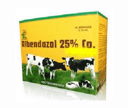 Albendazol 25%Co Oral Fco X 200 Ml Sev