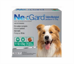 Nexgard Tab (10-25 Kl) Afoxolaner