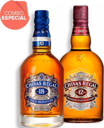 Rappicombo Chivas 18 700ml + Chivas 12 700 ml