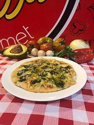 Pizza Di Al Pesto
