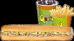 Combo Sándwich de Cordero Grande