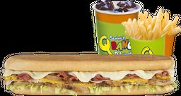 Combo Sándwich de Pavo Grande