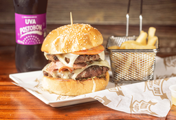 Combo Hamburguesa Doble Carne