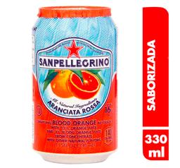 Soda San Pellegrino Aranciata Rosa 330 ml