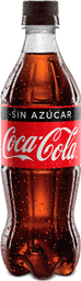 Coca-Cola sin Azúcar 400ml