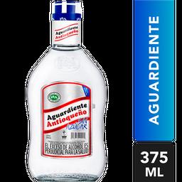 Aguardiente Sin Azúcar - Antioqueño Azul - Botella 375 Ml