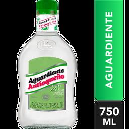 Aguardiente Antioqueño Verde 24° Sin Azucar *750 Ml