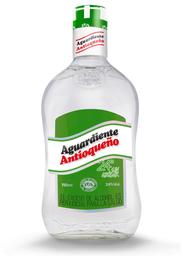 Aguardiente Antioqueño Verde 24 Sin Azucar 750 Ml