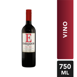 Vino Tinto Chileno - Embajador - Botella 750 Ml