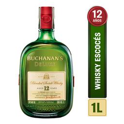 Whisky 12 Años - Buchanans Deluxe - Botella 1000 Ml