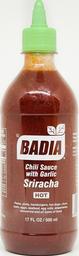 Salsa De Chili Sriracha Badia 6/500