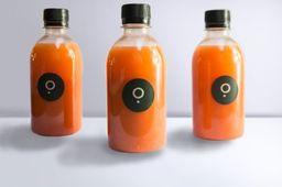 Jugo Naranja, Zanahoria y Jengibre