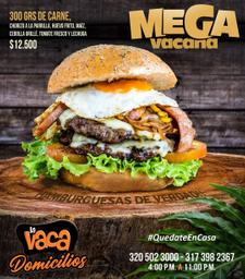Hamburguesa Megavacana