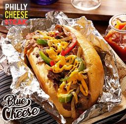 Sándwich Philly Cheesesteak