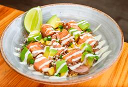 Bowl de Salmón en salsa Ponzu