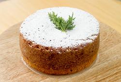 Torta Zanahoria con nueces y especias