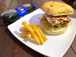 PROMO:Hamburguesas burger battle + papas + gaseosa
