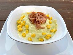 PROMO: Mazorca gratinada + papas + gaseosa
