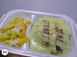 PROMO: Mazorca gratinada combinada + papas + gaseosa