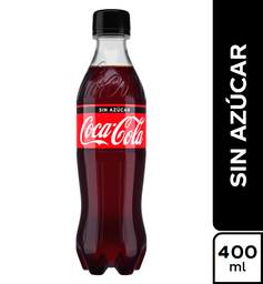 Coca Cola Sin Azucar 400 ml