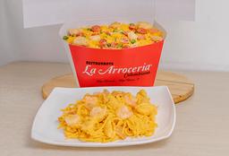 Arroz Ranchero y Spaguettis