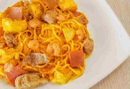 1 Caja Spaguettis Mixtos