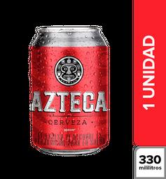 Cerveza Azteca Lata 330 mL