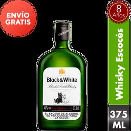 Whisky Black And White 375 mL