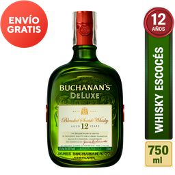 Whisky Buchanan's 12 Años Botella 750 mL