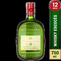 Whisky Buchanan's 12 Años Botella 750 mL
