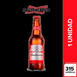 Cerveza Budweiser 315 Botella mL