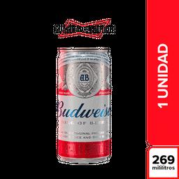 Cerveza Budweiser Lata 269 cc