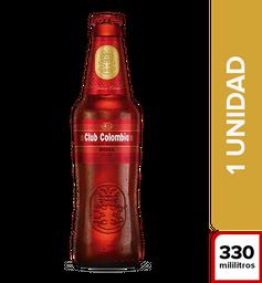 Cerveza Club Colombia Roja Botella 330 mL