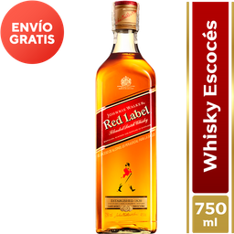 WHISKY JOHNNY WALKER RED LABEL 750 ML