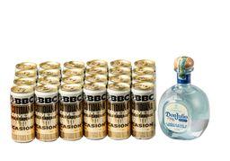 Tequila Don Julio 700 ml + 24 U Cerveza Bbc Cotidiana 269 ml