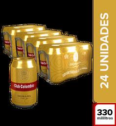 Cerveza Club Colombia Dorada 24 U