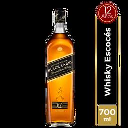 Whisky Johnnie Walker Black Label 12 Años