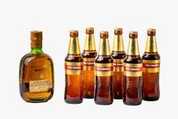 Whisky Buchanan's Master 750 ml + 6 U Cerveza Club Dorada 330 ml