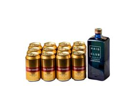 Whisky Haig Club 700 ml + 12 U Cerveza Club Dorada 330 ml