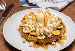 Waffle Banana Pavlova