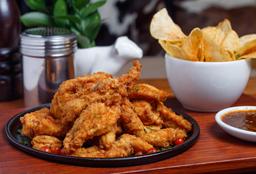 Pollo Sureño + Chips de Papa