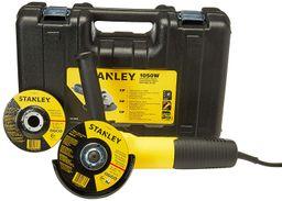 Pulidora 4-1/2 Pg 1050W + Caja plástica + 2 Discos Stanley